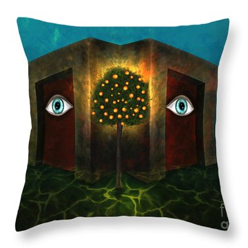 Dreams Do Not Sleep Throw Pillow
