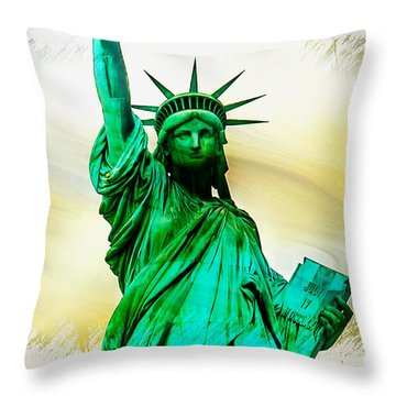 Dreams Of Liberation Throw Pillow