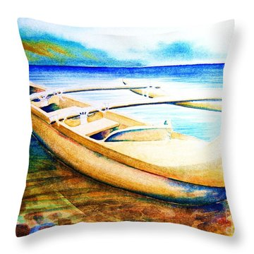 Dreams Of Polynesia Throw Pillow