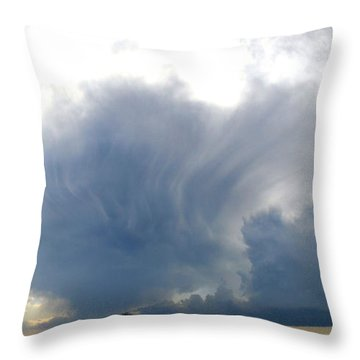 Dreams Of Trees Throw Pillow