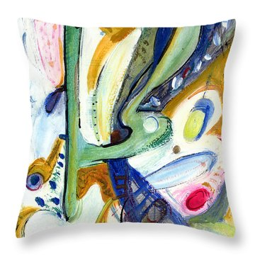 Dreams Throw Pillow by Stephen Lucas