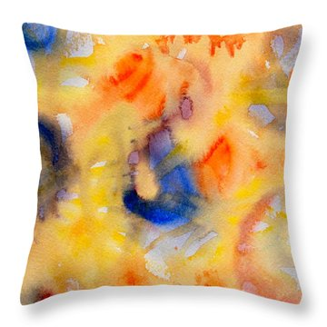 Dream In Color Throw Pillow