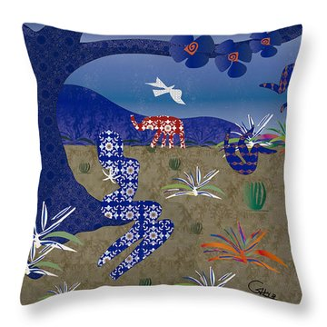 Dreamscape - Limited Edition  Of 30 Throw Pillow