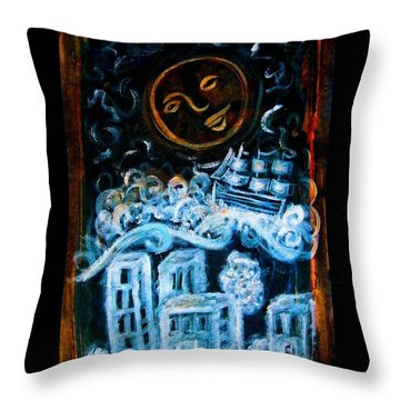 Dreamsequence 3 Dreamglider Throw Pillow by Mimulux patricia no No