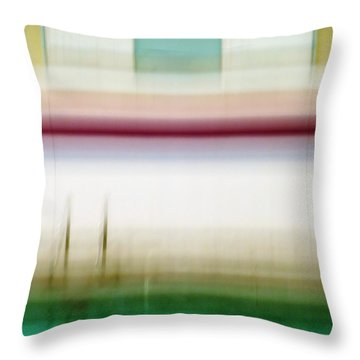 Throw Pillow featuring the photograph Pool by Patricia Strand