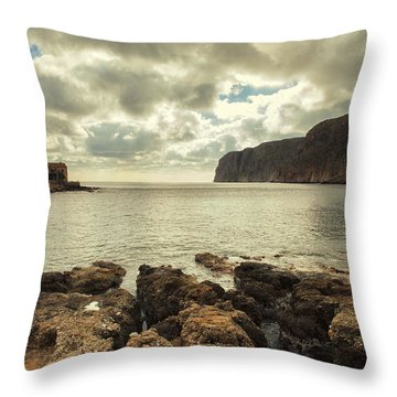 Dreamy Bay  Throw Pillow by Mike Santis