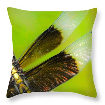 Dreamy Dragonfly Throw Pillow