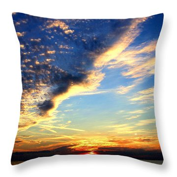 Throw Pillow featuring the photograph Dreamy by Faith Williams