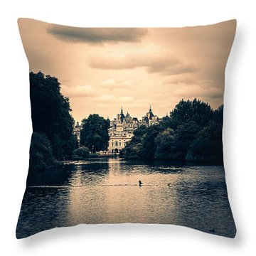 Dreamy Palace Throw Pillow