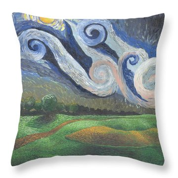 'dreamy Sky' Throw Pillow