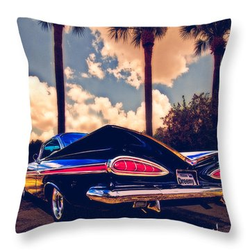 Dreemy 59 Impala - How Do U Live W/o It? Throw Pillow