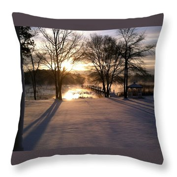 Drews Photo Throw Pillow by John Loreaux