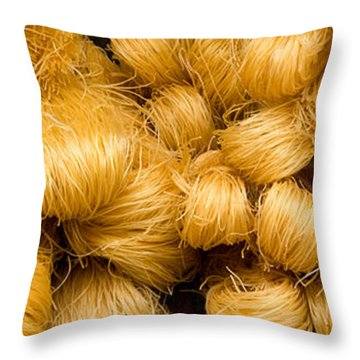 Dried Rice Noodles 05 Throw Pillow