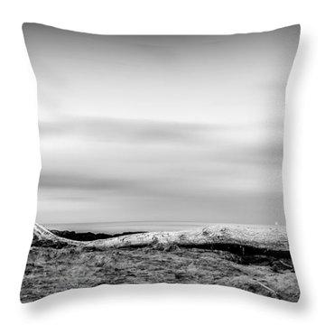 Drift-wood Throw Pillow