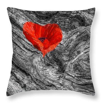 Drifting - Love Merging Throw Pillow