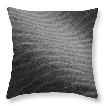 Throw Pillow featuring the photograph Drifting Sand by Aaron Berg