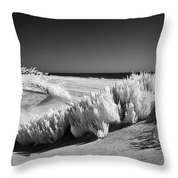 Drifting Sands I Throw Pillow