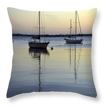 Drifting Sunrise Throw Pillow by Anthony Baatz