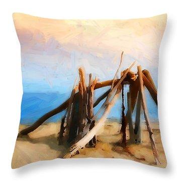 Rincon Mountains Throw Pillows