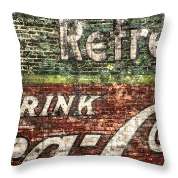 Drink Coca-cola 1 Throw Pillow
