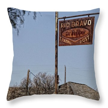Drink Dr. Pepper Throw Pillow