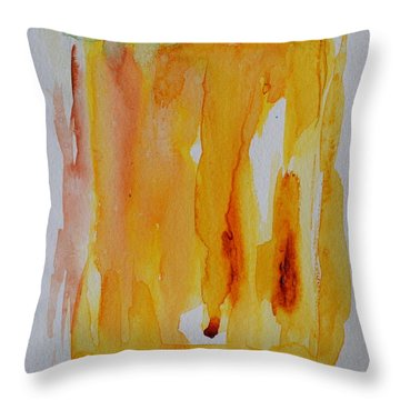 Drink Me Throw Pillow by Beverley Harper Tinsley