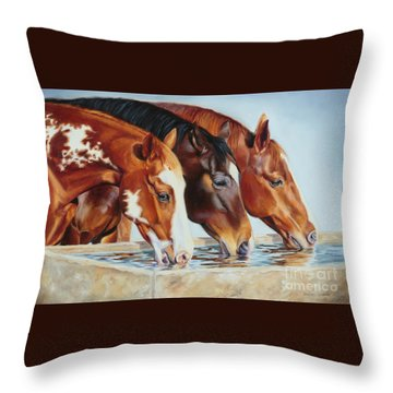 Drink'n Buddies Throw Pillow