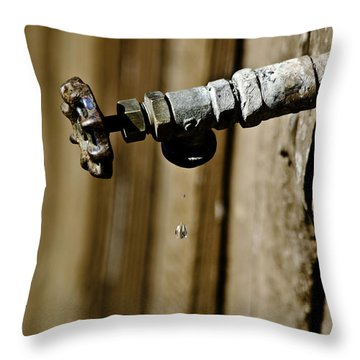 Drip...drip...drip...drip Throw Pillow
