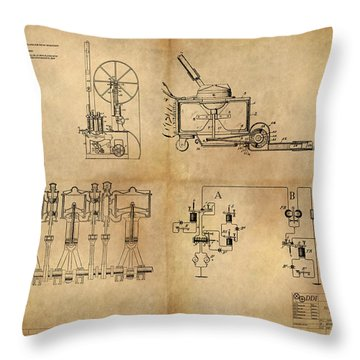 Drive System Assemblies Throw Pillow