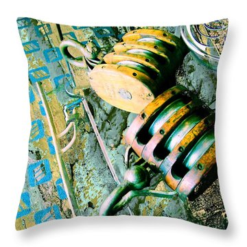 Drop And Give Me 20 Throw Pillow