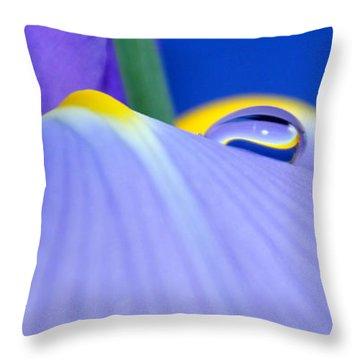Drop Of Spring Throw Pillow