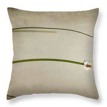 Drop Throw Pillow by Svetlana Sewell