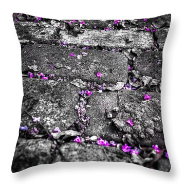 Drops Of Color Throw Pillow