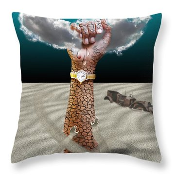 Drought Throw Pillow