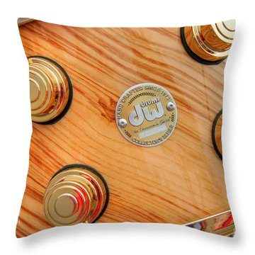 Drum Workshop Cayucos 4th Of July Parade Throw Pillow