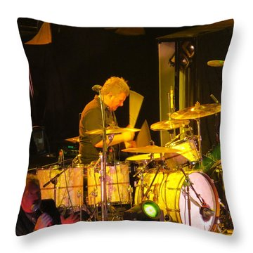 Drumer For Newsong Rocks Atlanta Throw Pillow
