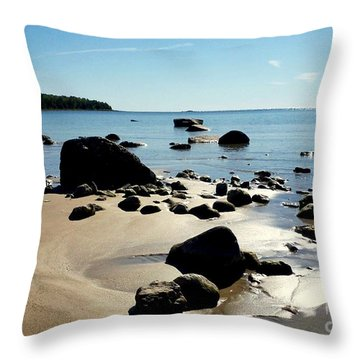Drummond Shore 2 Throw Pillow
