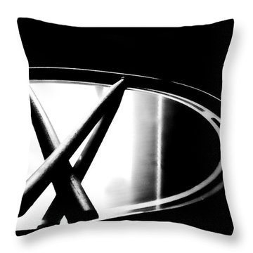 Drumstixs Throw Pillow