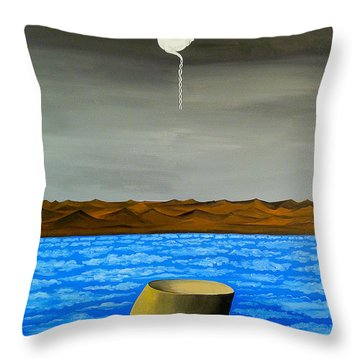 Dry-land Culture Throw Pillow