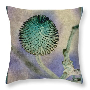 Dryweed Throw Pillow by WB Johnston