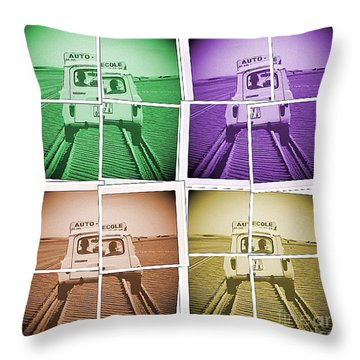 Dsd4 Throw Pillow