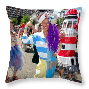 Throw Pillow featuring the photograph Duality by Ed Weidman