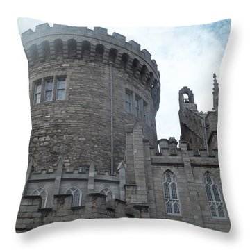 Dublin Castle Throw Pillow