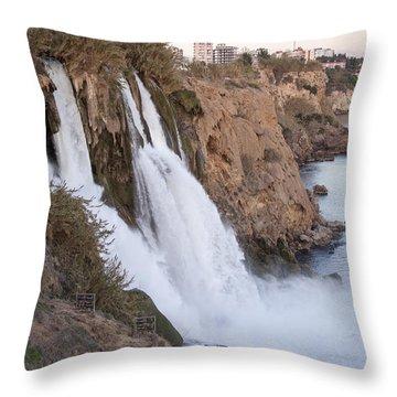 Duden Waterfalls Throw Pillow