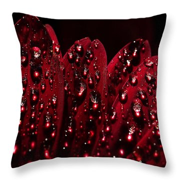 Due To The Dew Throw Pillow