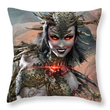 Duels Of The Planeswalkers 2014 Persona Ten Throw Pillow