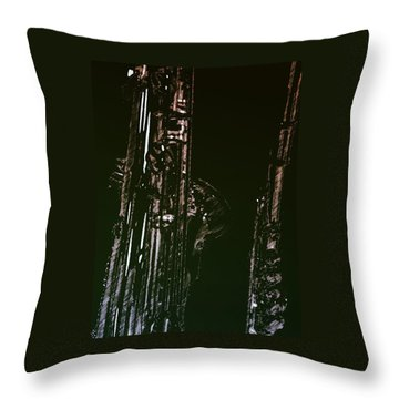 Throw Pillow featuring the photograph Duet by Photographic Arts And Design Studio