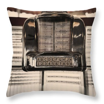 Duke Box Throw Pillow by Michael Edwards