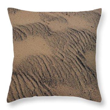 Dune Throw Pillow by Joseph Yarbrough