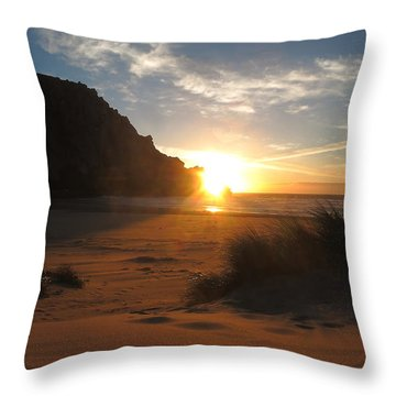 Dune Shine Throw Pillow by Paul Foutz